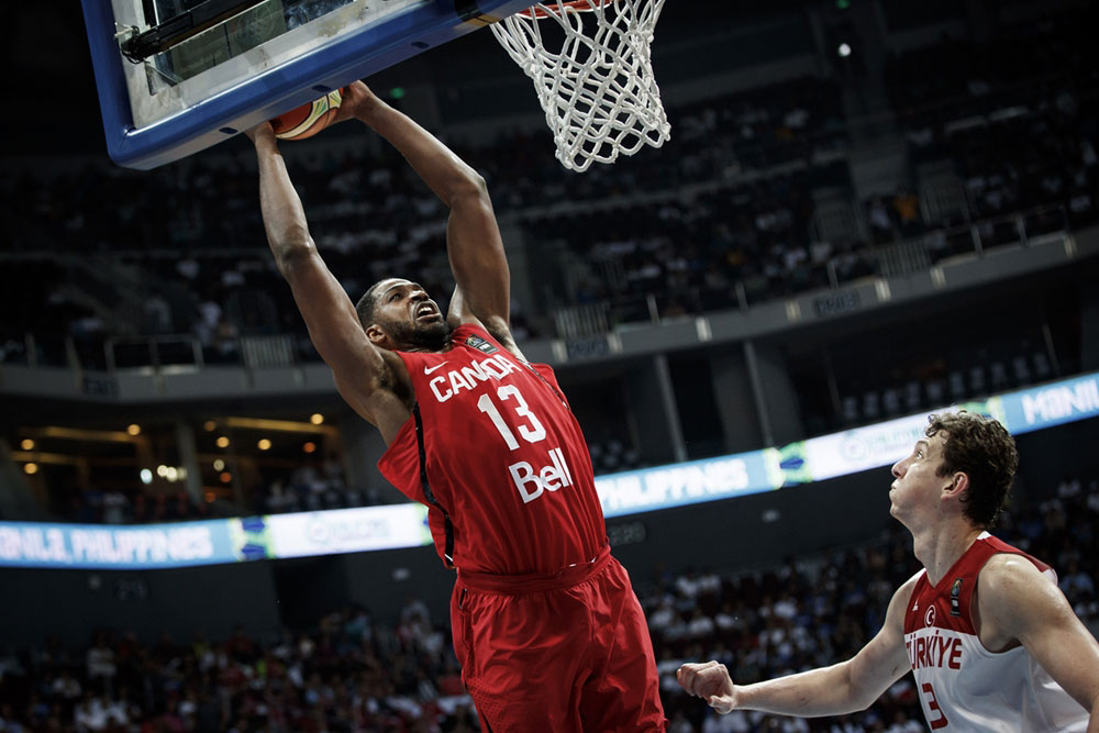 Tristan Thompson Slam Dunk Canada Gets Big Win Over Turkey To Start 2016 Fiba Olympic Qualification Tournament