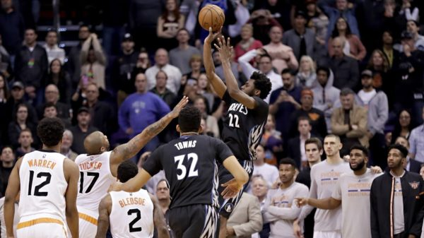 Andrew Wiggins Buries Phoenix Suns Game Winner NBA Canada