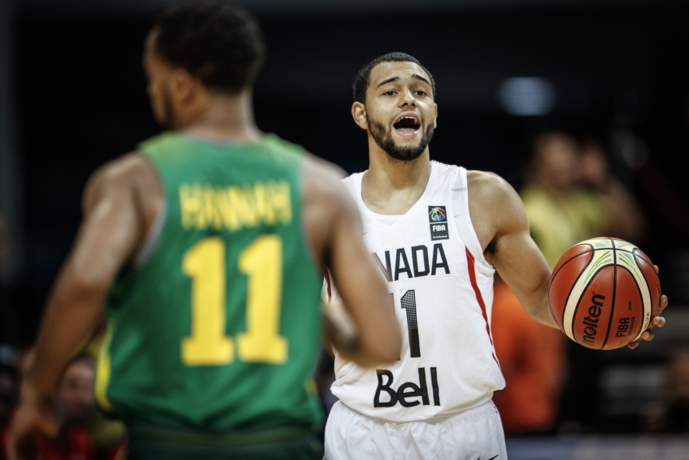 Tyler Ennis Canada Vs.senegal 2016 Olympic Qualifying Tournament