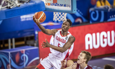 Tyrese Samuel Canada Knocks Off Latvia Reaches 2019 Fiba U19 World Cup Round Of 16