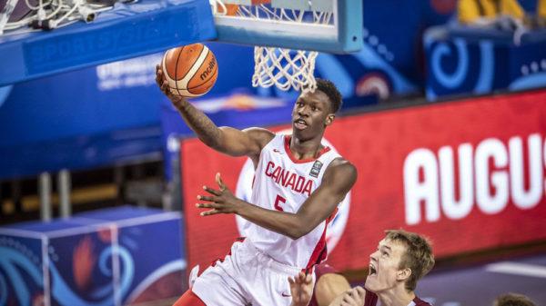 Tyrese Samuel Canada Knocks Off Latvia Reaches 2019 Fiba U19 World Cup Round Of 16
