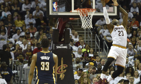 USP NBA: PLAYOFFS INDIANA PACERS AT CLEVELAND CAVA S BKN CLE IND USA OH