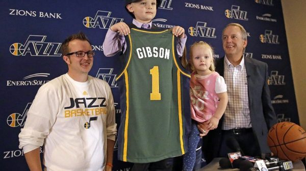 Utah Jazz Sign Five-Year Old J.P. Gibson