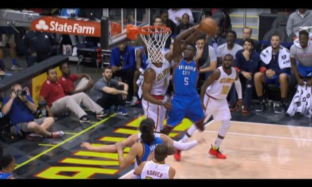 Victor Oladipo Ends Dwight Howard Career With 2016 17 NBA Dunk Of Year