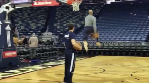 Vince Carter Casual Between The Legs Dunk Memphis Grizzlies Nba