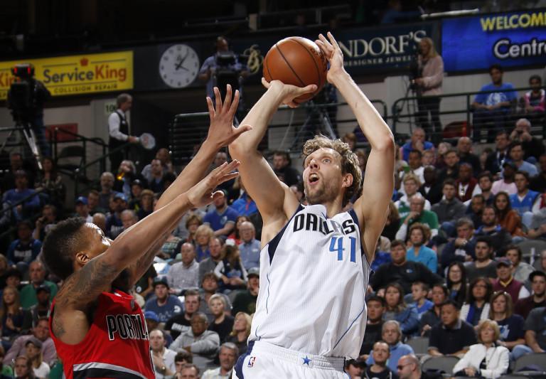 Vintage Dirk, 37-Year Old Nowitzki Drops Historic 40 Points on Blazers