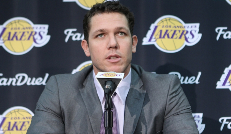Walton's Run As Lakers Coach Begins With Impressive Press Conference