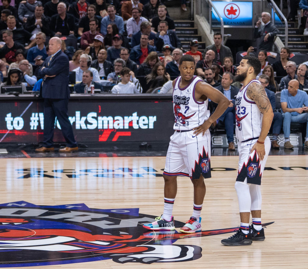 We The 1995. Toronto Raptors Claw Back The Jurassic Park Days