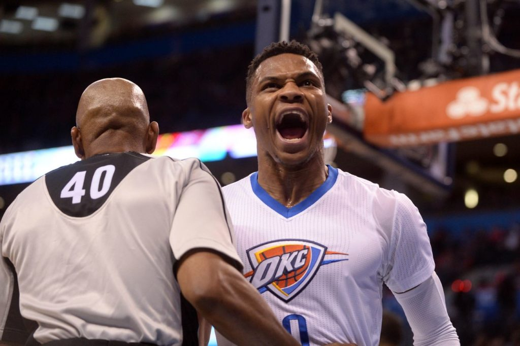 Wild Westbrook & Durant's Thunder Strike Down The Spurs