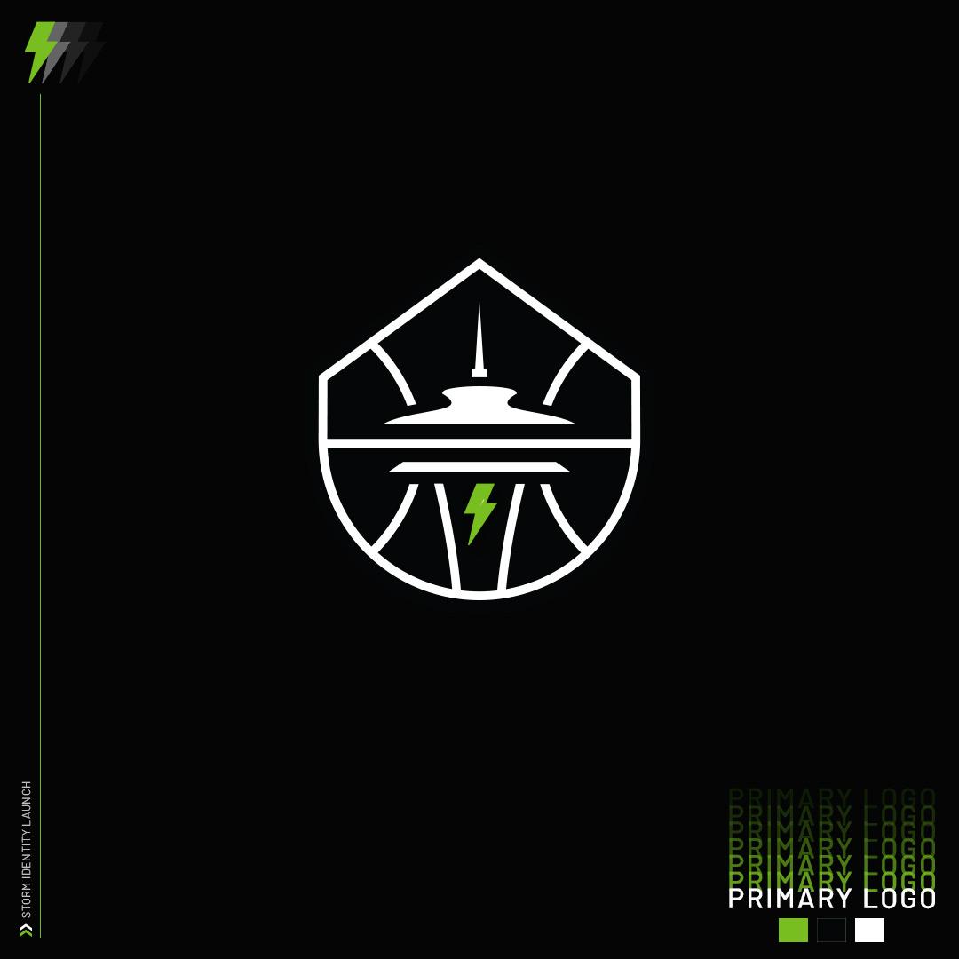 Wnba Seattle Storm New Logo 2021 Black