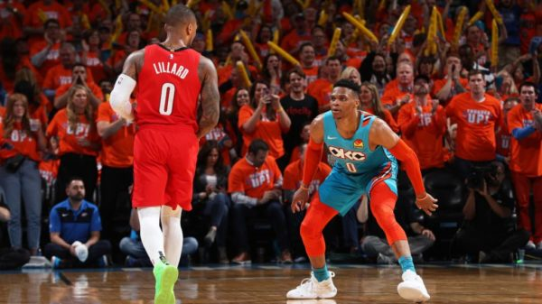 Zero To Zero We Could Watch Russ Vs Dame Until Theres No Time Left