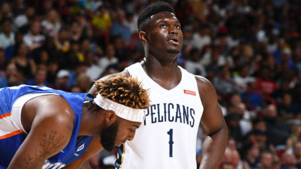 Zion Williamson Nba Summer League Debut 7 1 Earthquakela Postpones 2019 Nba Summer League